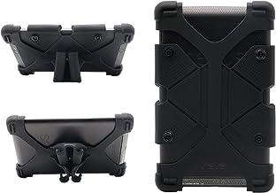 Funda universal para tableta de 7 pulgadas Funda de silicona a prueba de golpes para niños con soporte para RCA 7