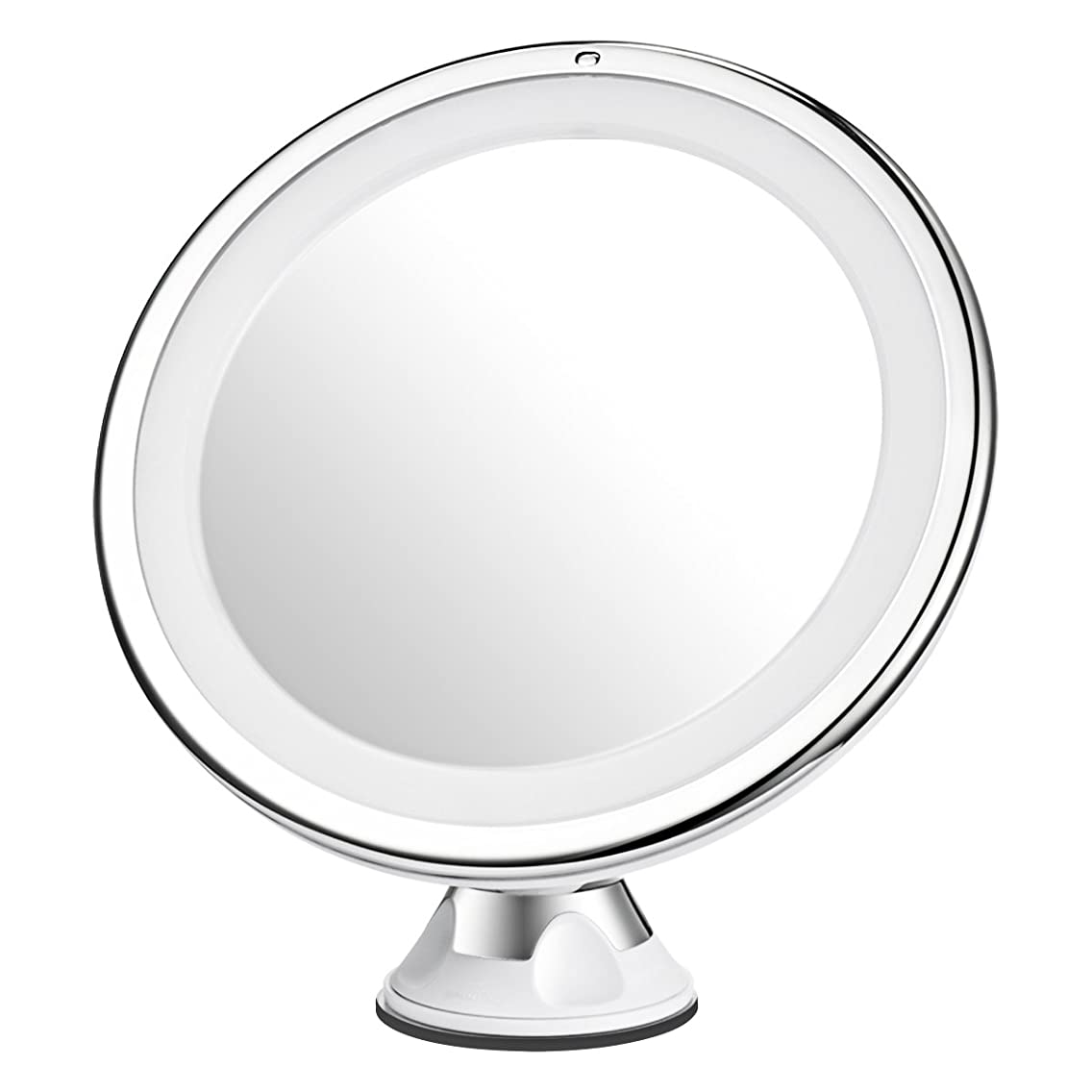 Mpow 7X Magnifying Mirror, 16 LED Lighted Makeup Mirror, 360 Rotation Bathroom Vanity Mirror with Strong Suction Cup, Natural Day Light, Portable & Cordless Bathroom Mirror, Table Stand Mirror