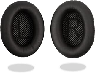 REYTID Replacement Ear Pad Cushion Kit Compatible with Bose QuietComfort 35 / QC35 Headphones Black