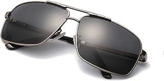 9d180168e8 MuJaJa Gafas de sol Hombre moda Metal Marco con las Bisagras del Resorte  para Deportes al