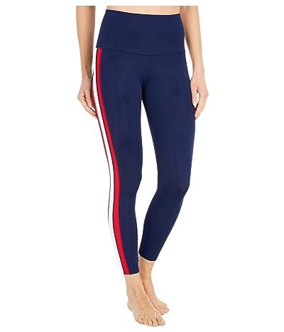 Onzie Side Midi Pants (Navy Combo) Women