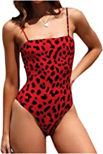 بدلة نسائية من قطعة واحدة من Coolred مطبوع عليها Bikini بدون ظهر مجوّعة من الحرير