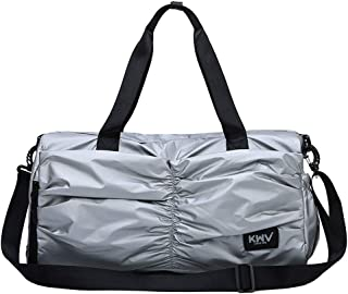 Mens Single Shoulder Skew Luggage Package Sports Bags Fitness Handbags Gym Sports Luggage Bag Travel Duffel Canvas Travel Bag Leisure Business Travel