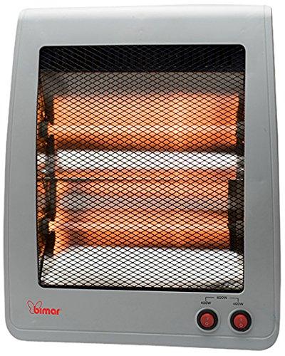 Bimar S801.EU - Calefactor (Calentador infrarrojo, Piso, Gri