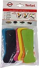 Tefal Lot de 6 Spatules avec œilletons Thermoplastiques pour Crépières, Raclettes et Wok Party XA900203