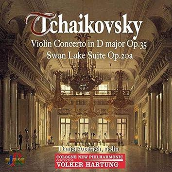Tchaikovsky: Violin Concerto in D Major, Op. 35 & Swan Lake Suite, Op. 20a
