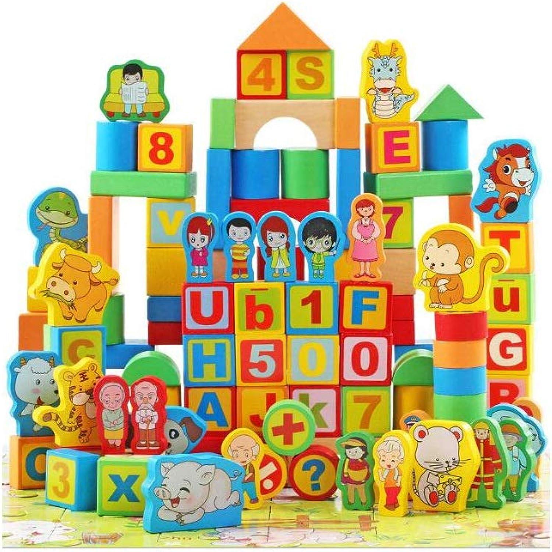 QARYYQ Holz Stapeln Bis Zu 200 Tabletten Doppelte Szene Barrel Building Blocks Kinder Bildung Spielzeug Spielzeug B07MGT46LM Öffnen Sie das Interesse und die Innovation Ihres Kindes, aber auch die Unschuld von Kindern, kindlich, glücklich     | Erschwingl