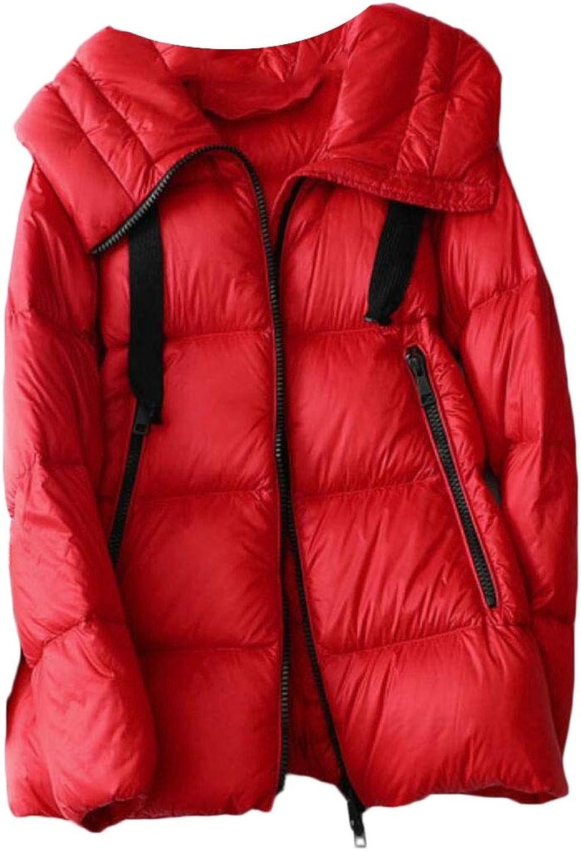 Desolateness Women's Lightweight Packable Puffer Coat Quilted Ultra Light Down Jackets