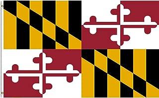 Breeze Banner Maryland Full Flag Crab 5x8ft Flag Outdoor Nylon