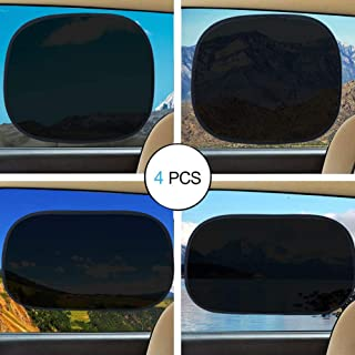 Car Window Shade, Sunshade for Front Rear Side Blocking SUN UV Ray and Protecting Kids Pets with Easy Installation and Goo...
