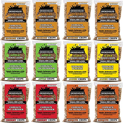 Smokehouse Products Assorted Flavor Chips, 12-Pack