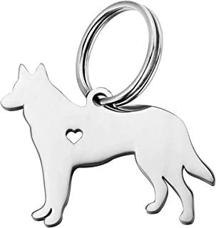 HOUSWEETY 1pc Stainless Steel Pendant