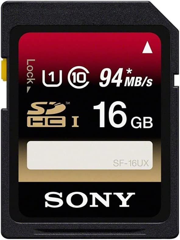 Sony Sf16ux Class10 16gb Sdhc Speicherkarte Mit Uhs Computer Zubehör