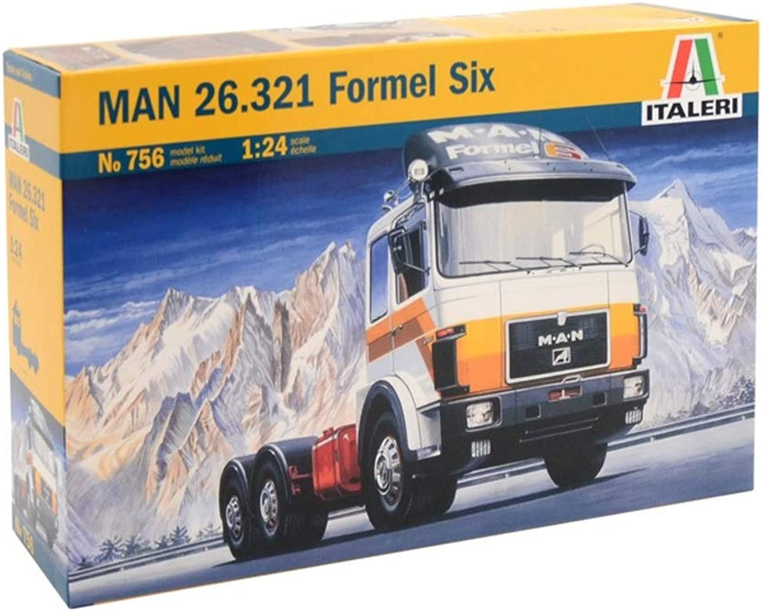Italeri MAN 26.321 Formel Six Model Kit