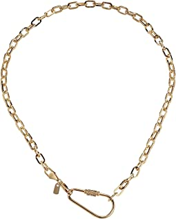 The Navy Chain Necklace