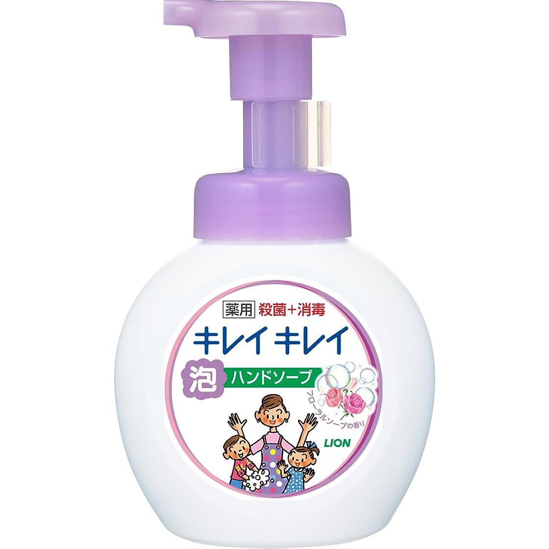 フィヨルド不運ダンスキレイキレイ 薬用 泡ハンドソープ フローラルソープの香り 本体ポンプ 250ml(医薬部外品)