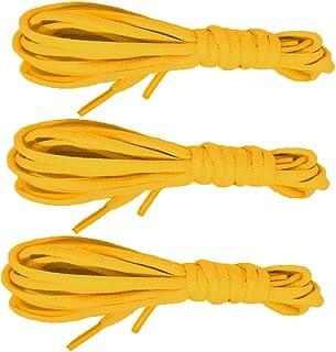 3ペア靴紐casehqフラットシューズ文字列靴紐52インチフラットAthletic Shoelaces Elastic Shoe Laces for running靴スポーツ靴スニーカーブーツスケートボードシューズカジュアル靴