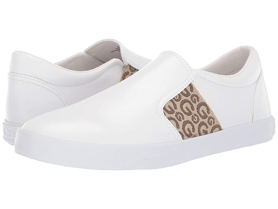 G by GUESS Marcoe (White/Taupe) Women