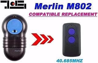 Calvas New FOR Merlin M802 compatible remote