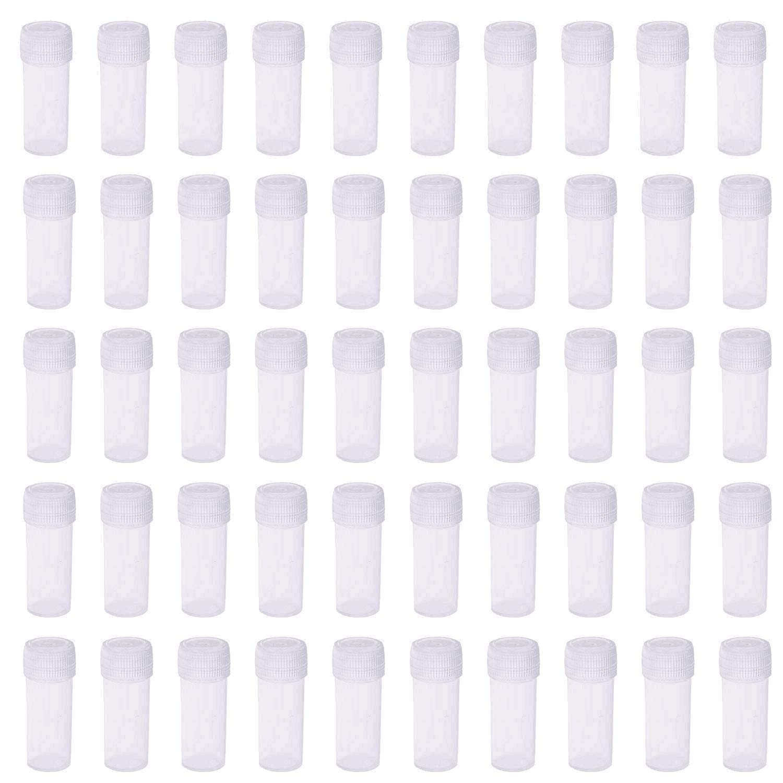 5ml Plastic Test Tubes Small Co Washington Mall Vial Storage Bottle Max 71% OFF