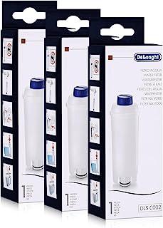 DeLonghi Lot de 3 filtres à eau pour machines à café, convient pour ECAM, ESAM, ETAM, BCO, EC,