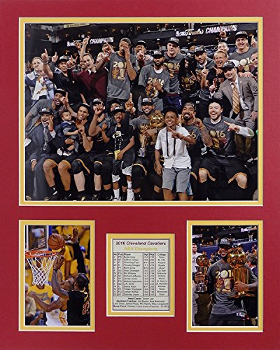 LeBron James and Kobe Bryant Cleveland Cavaliers Los Angels Lakers NBA Double Matted 8x10 Photograph Cleveland Cavaliers Match Up