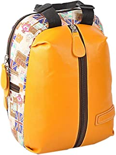 Backpack for Unisex, Size 16, Yellow