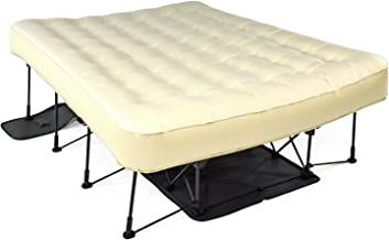 queen air bed with frame