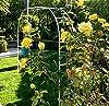 Adorox 7.5Ft 1 Set White Metal Arch Wedding Garden Climbing Plants Bridal Party Decoration Arbor #2