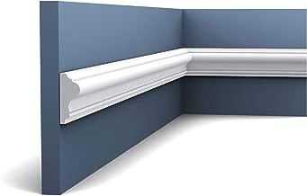2 Meter Wandleiste Stuck Orac Decor P8030 LUXXUS Wandprofil Stuck Profil Friesleiste Dekor Leiste Zierleiste Wand