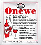 Onewe-Pulver Vierka Kaliumdisulfit schützt Maische,Most + Wein - ausreichend für 100 Liter - 10 g -