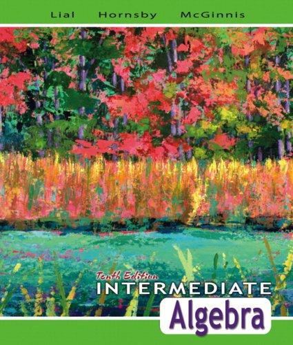 Intermediate Algebra, 10th Edition