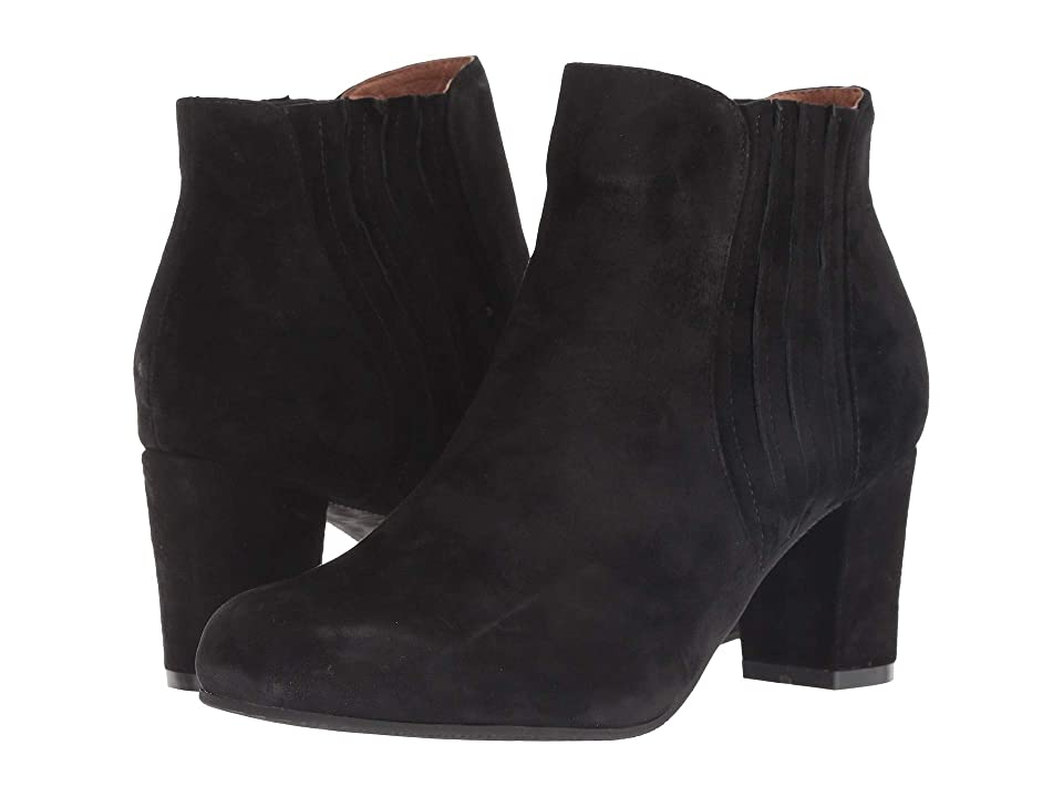 Sudini Camila (Black Suede Leather) Women