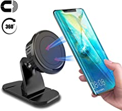Magnetic Car Phone Mount Dashboard,Universal Magnetic Car Mount Phone Holder 360° Rotation Car Phone Holder with Strong Built-in Strong Magnets Cell Phone Holder for Car