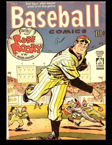 Baseball Comics #1: 1949 Popular Will Eisner Sports Comic