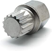 TEMO ABC4/15PT Wheel Lock Lugnut Anti-theft Lug Nut Screw Removal Key Socket S3057 For VW AUDI