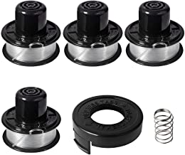 Thten Weed Eater Spools Compatible with Black and Decker RS-136 ST4500 ST1000 ST4000 GE600 CST800 ST6800 String Trimmer Replacement Spool Line 20ft 0.065