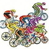 Bothy Threads - Kit per punto croce, motivo: ciclismo
