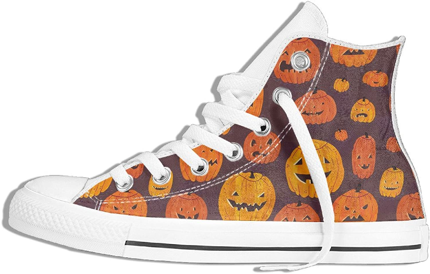 Efbj Spooky Halloween Unisex Unique High Top Sneakers shoes for Men and Women