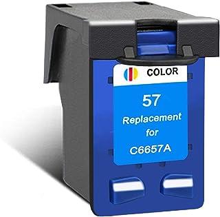 CMDZSW Compatibile per cartucce HP56 o HP57 per HP PSC 4200 1110 1205 1210 1215 1219 1315 1340 1350 2210 2410 (Color : 1C)