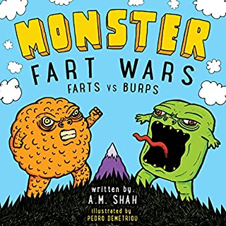 Monster Fart Wars audiobook cover art
