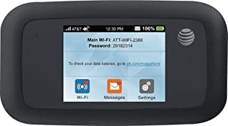 AT&T Velocity 4G LTE Mobile WiFi Hotspot (Black)