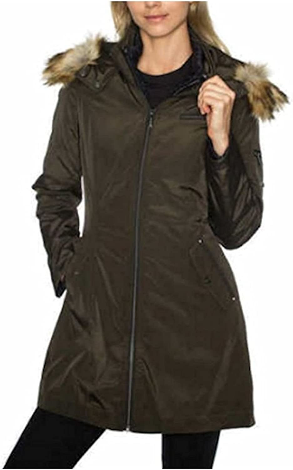 Tahari Ladies' 3in1 Systems Jacket Detachable Quilted Jacket