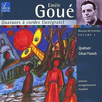 Emile Goué: Chamber Music, Vol. 1