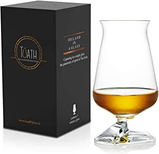 The Tuath - Official Irish Whiskey Tasting Glass from Ireland (Set of 2)