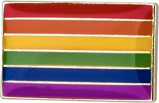 Gay & Lesbian Pride Rainbow LGBT LGBTQ Flag Lapel Pin