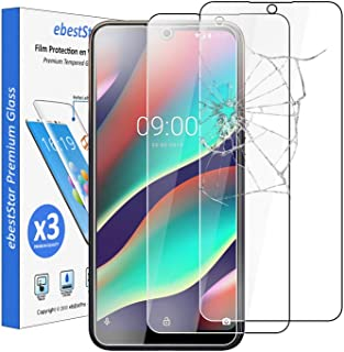 ebestStar – kompatibel med Wiko View3 Pro pansarglas [x3 pack] (2019) skyddsfolie glas, skyddsglas skärmskydd, skärmskydds...
