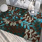 HirrWill Teppich chinesischen Stil Druck Teppich Blume Wohnzimmer Sofa Schlafzimmer Nacht Decke nach Hause, JH-215, 200cm * 300cm