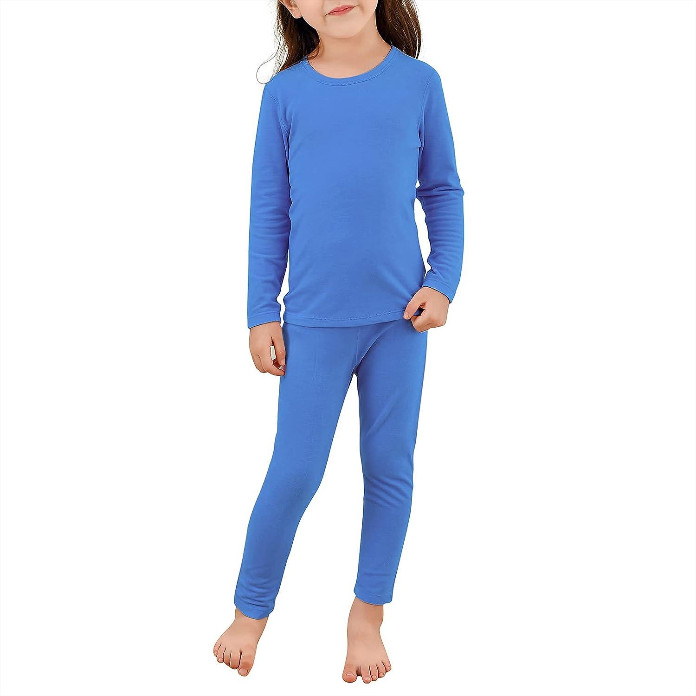 Boy's Thermal Underwears Soft Kids Base Layer Long John Set