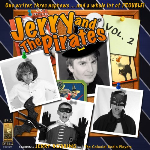 Jerry and the Pirates, Vol. 2 audiobook cover art